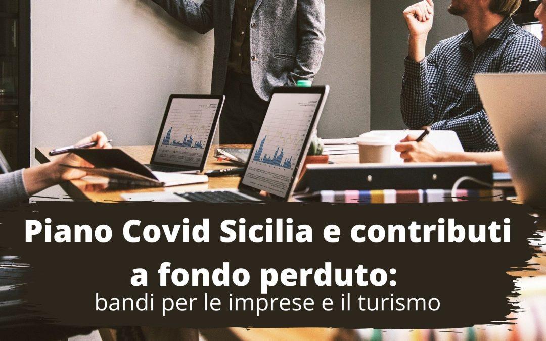 Piano Covid Sicilia e contributi a fondo perduto